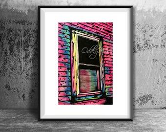 The Grimshawe House Window - Art Print