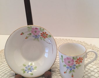 Radfords Crown China Cup and Plate ~ Teacup and Saucer ~ # 8294 ~ Made in England ~ Vintage
