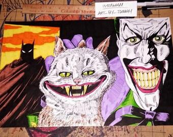 JokerCat 11x17 re-creation