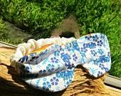Blue elephant Sleep mask, satin sleep mask hospital gift, travel gift migraine relief sleepwear, blue satin blindfold soft eye mask under 20
