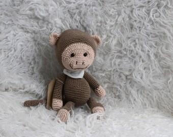 Amigurumi monkey doll