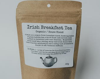 Organic Irish Breakfast Tea Blend