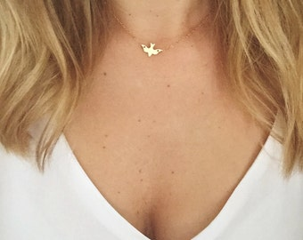 Free Bird Necklace / DoveNecklace / Bird Necklace