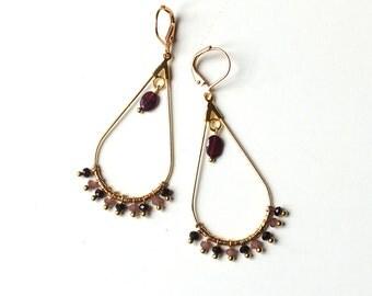 LEILA earrings / / Tan Tao