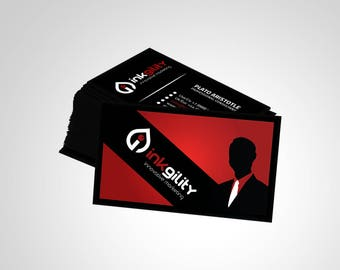 Business Cards (CONSULTING & RECRUITMENT Template)