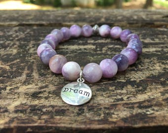 Dream w/ Lavender Mixed Beads