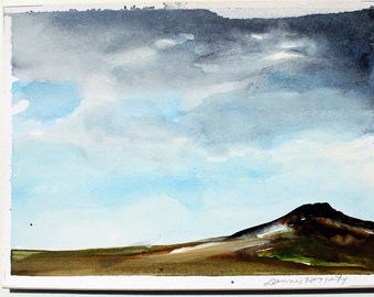 Taos Landscape, Dennis Haggerty, (1947- 2012)