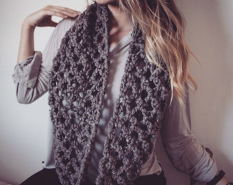Diamond Long Cowl Scarf