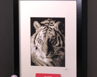 Framed Layered Papercut - made from your photo