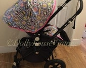 Custom Marvel hood canopy to fit Bugaboo Cameleon 123