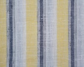 Nubby linen blend striped...