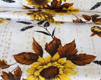 Bindi Yellow - Outback Wife by Gertrude Made for Ella Blue Fabrics - Barkcloth