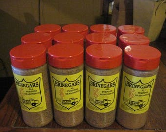 Brinegars all purpose seasoning  Dry Rub for BBQ, Beans ribs Wild Game perfect for kitchen or grill competition bbq perfect on vegatables