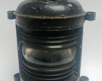 Large antique ships light lantern