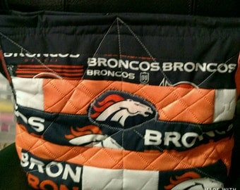Bronco's Messenger Bag