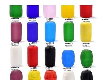 5pcs DIY Handmade Colorful  Glass Barrel Beads for Bracelet/Necklace-WEN41228292647-GVN