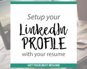 LinkedIN Profile Writing | Turn your résumé into your LinkedIN profile | Get your Best Resume and LinkedIN Profile | Custom | Free Help