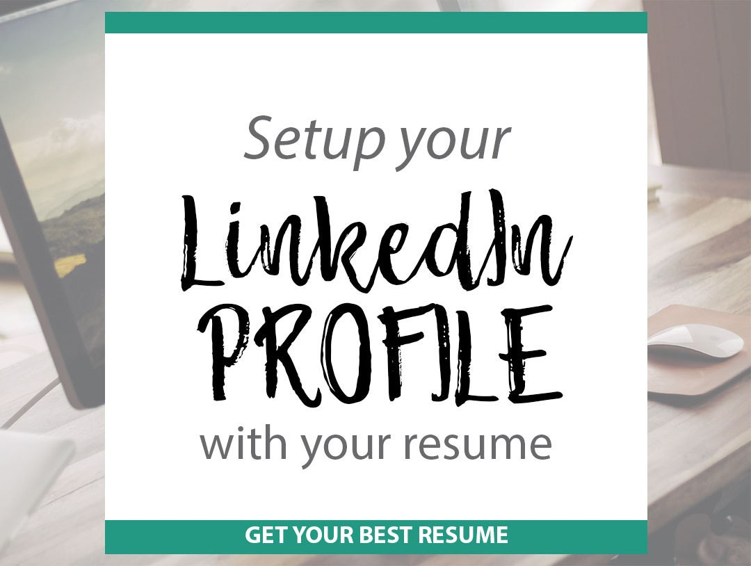 linkedin profile writing turn your r u00e9sum u00e9 into your linkedin