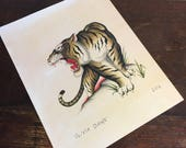 Traditional tiger print by Olivia Dawn #32