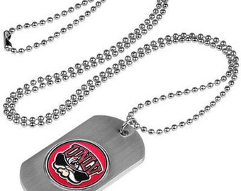 UNLV Rebels Stainless Steel Dog Tag Necklace