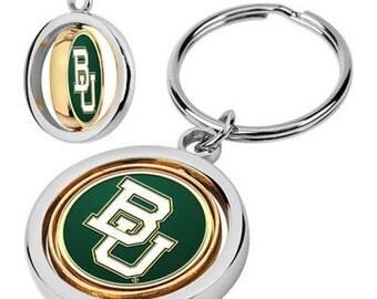Baylor Bears Spinner Keychain