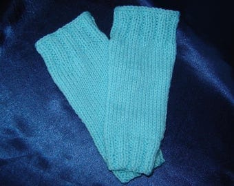 Turquoise Baby Leg Warmers - For Baby - Baby Shower Gift - Newborn Leg Warmers - Baby Legwarmers