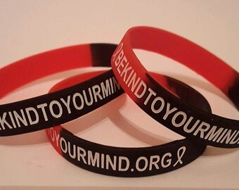 Be Kind To Your Mind mental health wristband