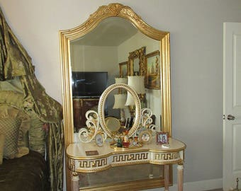 GOLD LEAF PIER Mirror