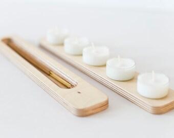 Incense burner / Candles holder natural