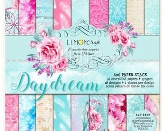 Lemoncraft Daydream 6x6 Designer Scrapbook Papers