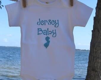 JERSEY BABY ONESIE