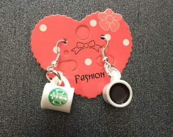 Mug Coffee earrings