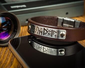 Mens bracelet mens gift boyfriend gift gift for men leather bracelet gift for him men bracelet husband gift mens brown bracelet bracelet