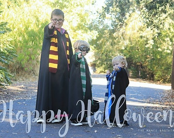 """Harry Potter House of Gryffinder, Hogwarts school of Wizardry, """"ancient magic"""" in SZ 2T to 14, Toddlers to Teens"""