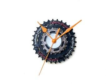 Industrial Wall Clock, Industrial Design Clock, Steampunk Clock, Bike Wall Clock, Modern Wall Clock, Unique Wall Clock, Bicycle Wall Clock
