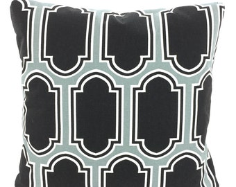 Grey Black Decorative Throw Pillow Covers, Cushions, Cool Gray Black White Fargo, Pillows for Couch Bed, Throw Pillow, One or More All Sizes