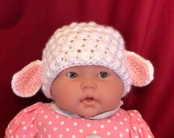 Toddler Lamb Hat