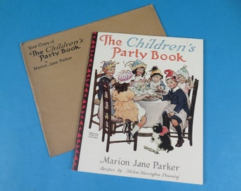 Children's Party Book , MJ Parker and Frances Tipton Hunter, Altoona Pa give-away