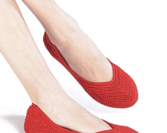 BALLERINA CROCHET RED