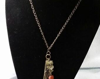 Antique Gold Tassel Necklace