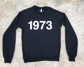 1973 - Roe v. Wade - Black Sweatshirt