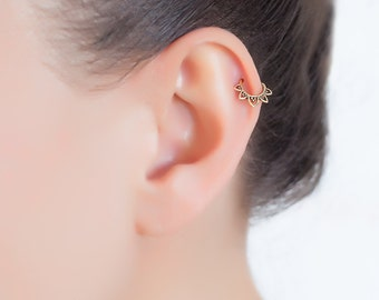 20g tragus earring. helix earring. tiny earring. cartilage piercing. cartilage jewelry. tragus jewelry. tragus hoop.