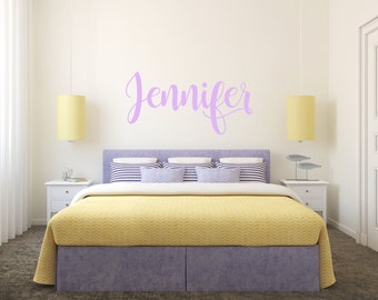 Girls Name Wall Decal   Personalized Wall Decals   Personalized Name Decal    Custom Wall Decal Part 97