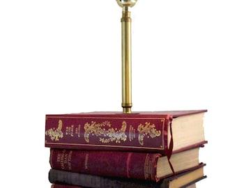 Book Lover Gift, Table Lamp, Bookish Decor, Book Lamp, Book Decor,