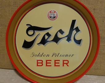 Teck Golden Pilsener Beer Tray, PB Co.