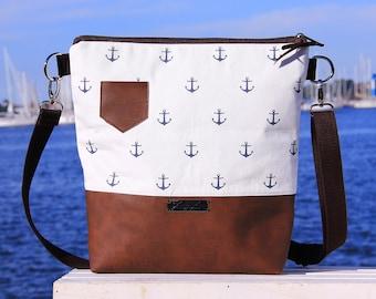 shoulder bag -Moin Moin- Handmade, Unique, ZwillingsZwirn