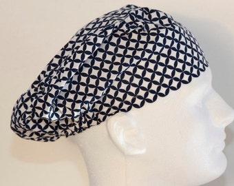 European Style Scrub Cap - European Surgical Cap-Scrub Hat- Bouffant Surgical Scrub Hat - Surgical Cap - Nurses Scrub Cap-European Scrub Hat