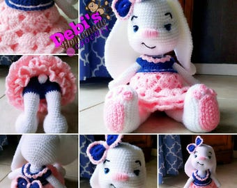 Pretty Bunny, Made-to-Order Crochet