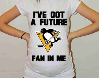 Pittsburgh Penguins Baby Pittsburgh Penguins Baby Boy Baby Girl Maternity Shirt Maternity Clothing Pregnancy New Baby Shower