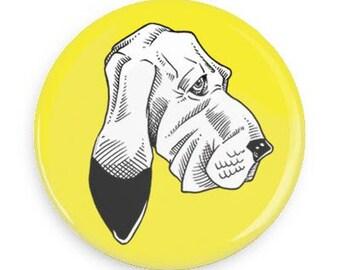 Dog Button Pin